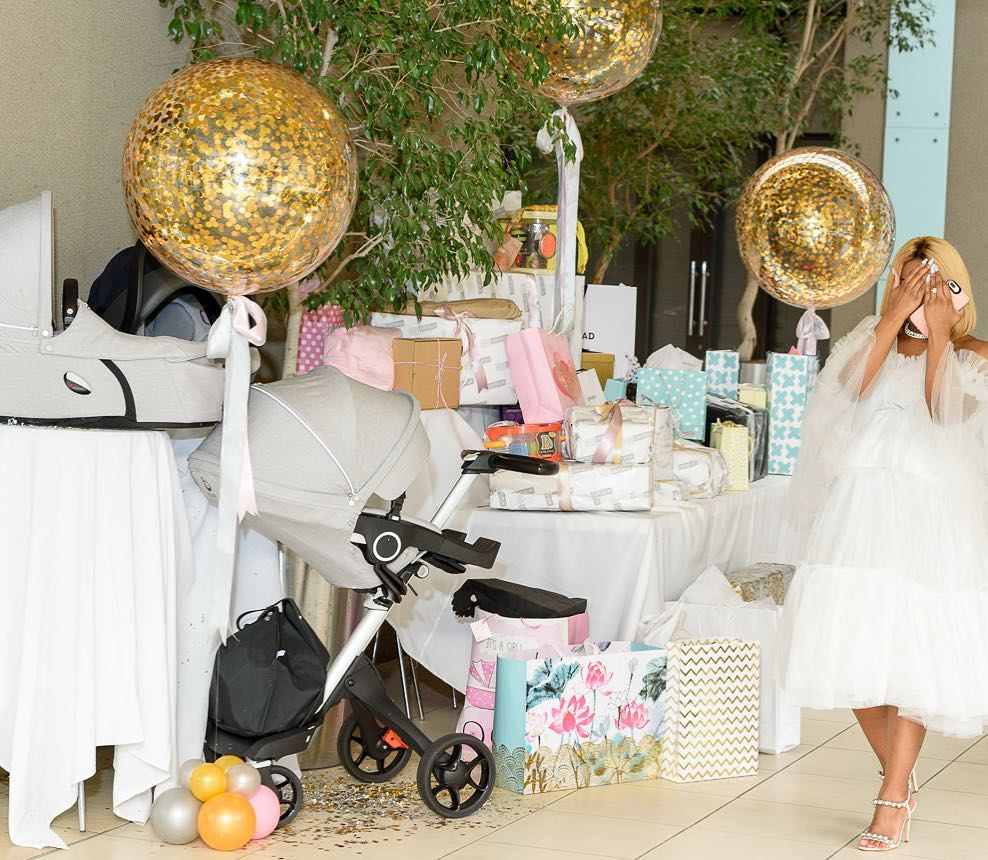 South African Actress Jessica Nkosi Is Gorgeous At Baby Shower