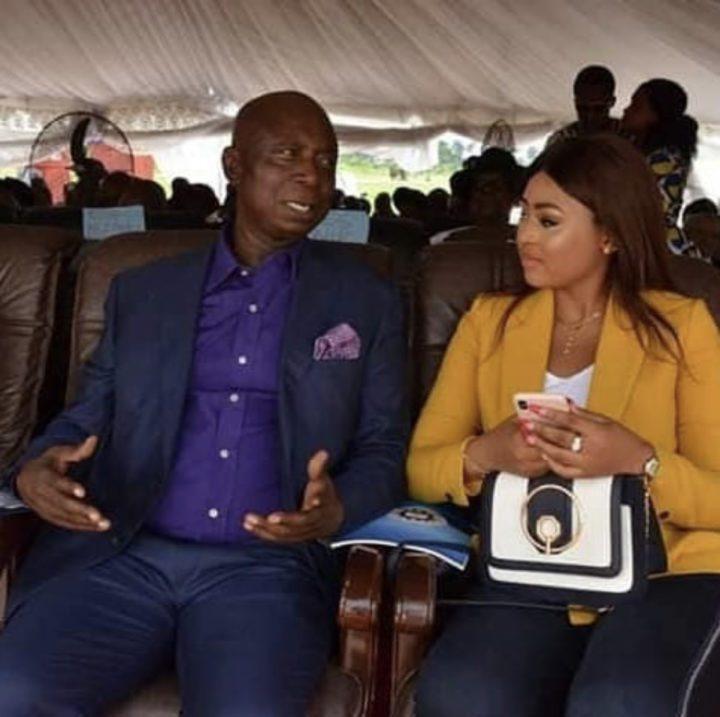 Image result for regina daniels and husband Ned Nwoko
