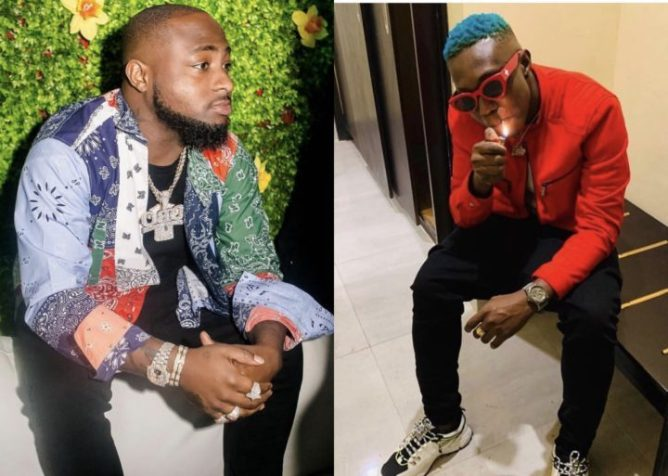 Davido Reacts After he Was Slammed By Zlatan Ibile's Friends